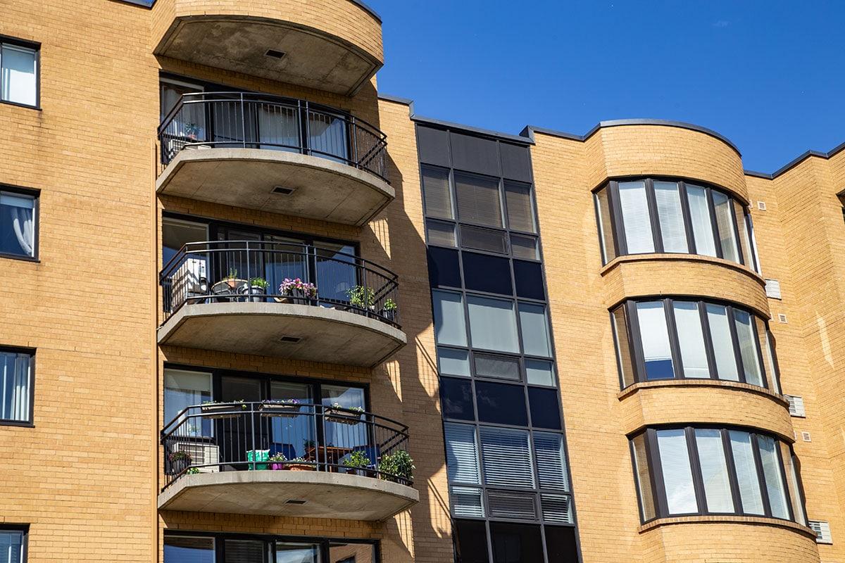 Fenêtre résidentielle condo