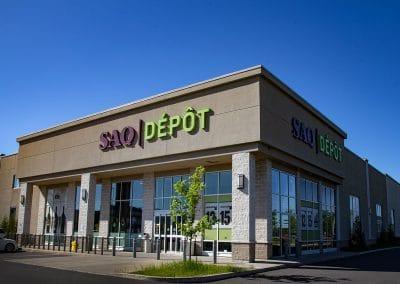 Devanture magasin SAQ